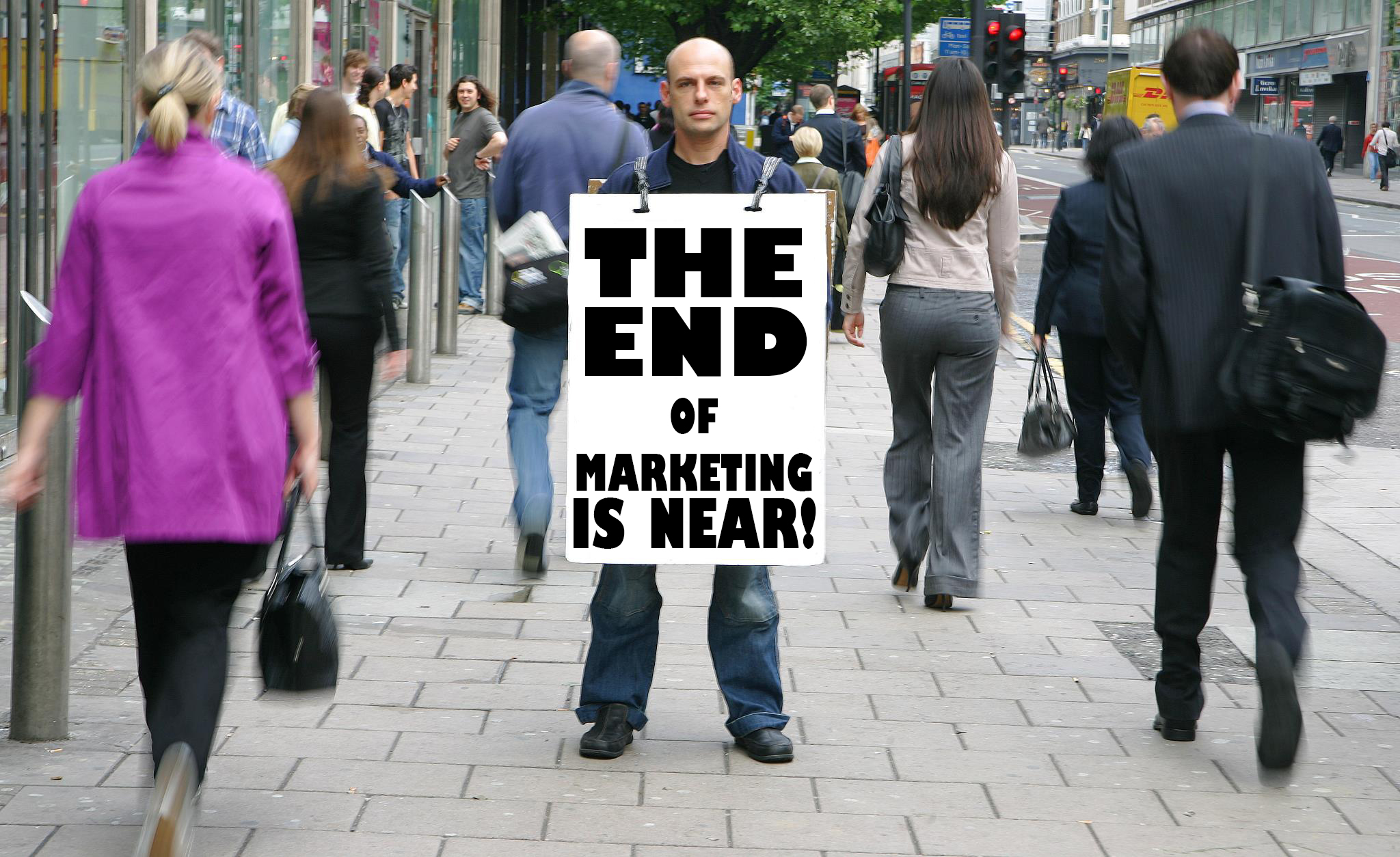 The End of Marketing is Near